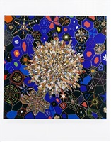 blue geode [large] by fred tomaselli